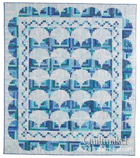 Judy Martin Quilts Log Cabin by By The Sea A Log Cabin Quilt Designed By Judy Martin