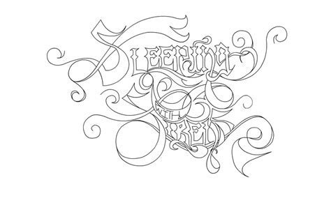 sleeping with sirens logo by klee12 on deviantart