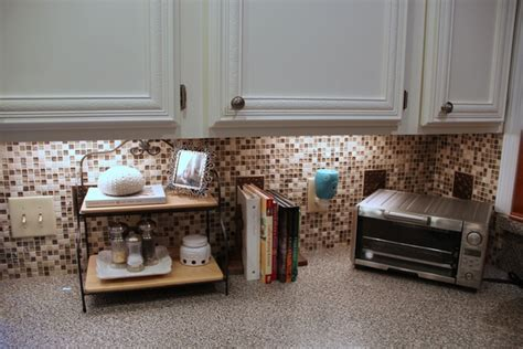 stick on backsplash tiles for kitchen peel and stick tile backsplash review of pros and cons