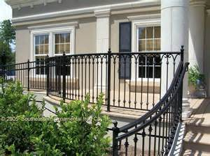 wrought iron outdoor stair railings how to select the best outdoor stair railing garden design