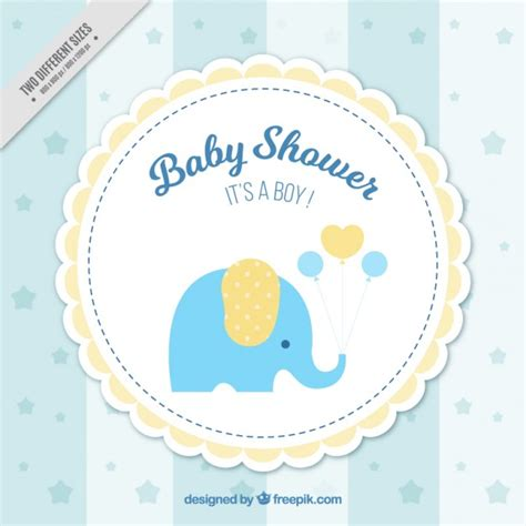 Baby Boy Shower Images Free by Baby Shower Background Vector Free