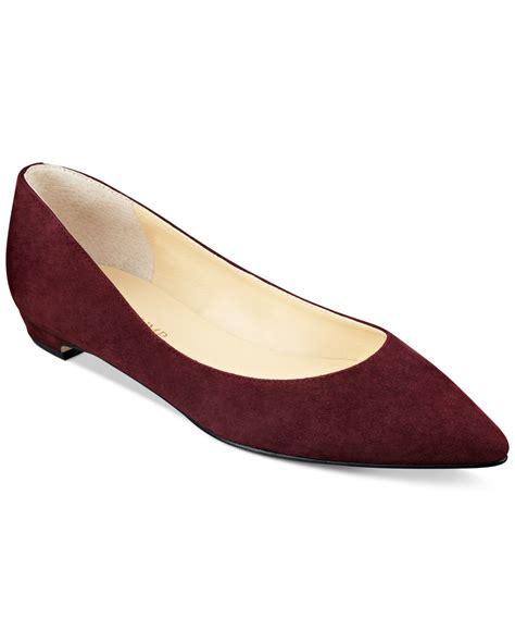 ivanka flats shoes ivanka tizzy flats in lyst