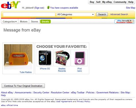 ebay full site the billboardization of ebay auction site or