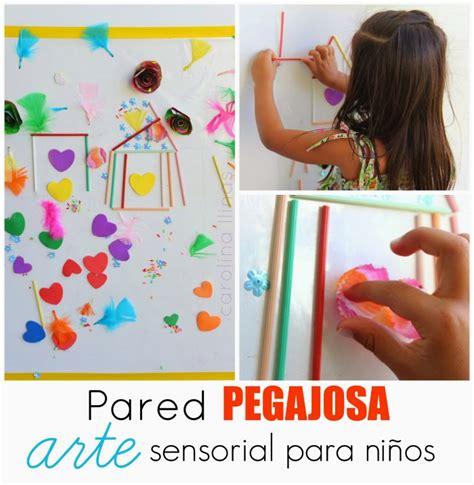 imagenes sensoriales actividades pared pegajosa arte sensorial para ni 241 os artividades