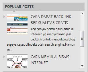cara membuat scroll pada label blog kumpulan info tips cara membuat scroll pada popular post blog archive dan