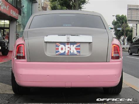 rolls royce headquarters pink rolls royce phantom by office k autoevolution