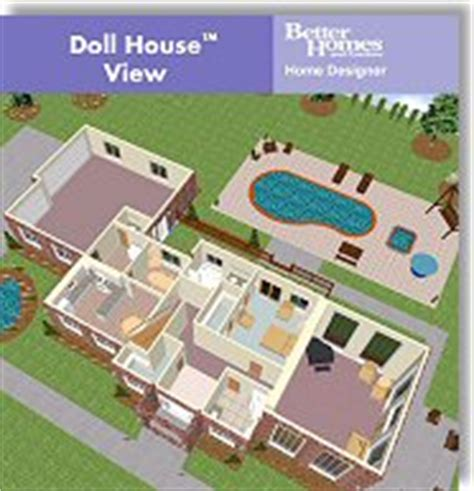 better homes and gardens home designer suite 6 by chief