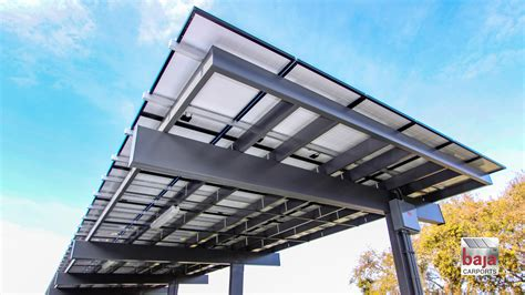 Carport Structure by Carport Solutions For Parking Lots Baja Carports