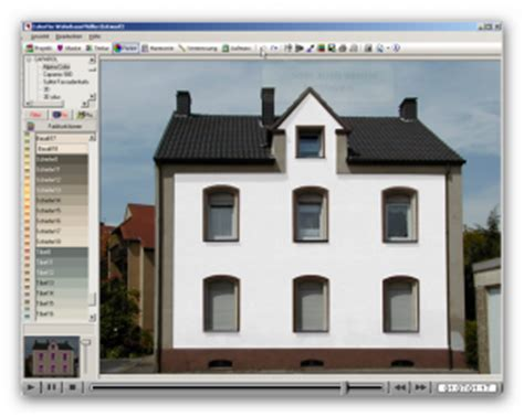 Hausfassade Farblich Absetzen by Farbeplus