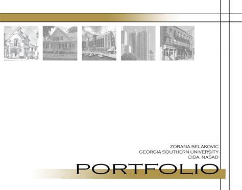 portfolio cover page zorana selakovic