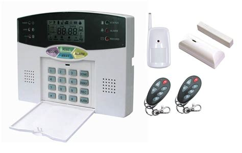 house alarm wireless home security system house alarm 32wireless 8wired lcd display pstn voice