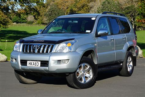 land cruiser prado car toyota land cruiser prado 2002 2009 used car review trade me
