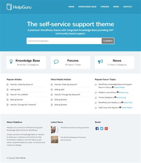 free wordpress knowledge base theme 20 best wiki knowledge base wordpress themes for 2018