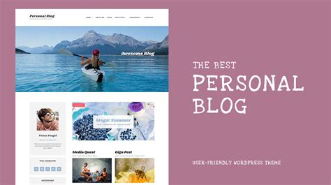 themes wordpress personal best personal blog best personal blog wordpress theme