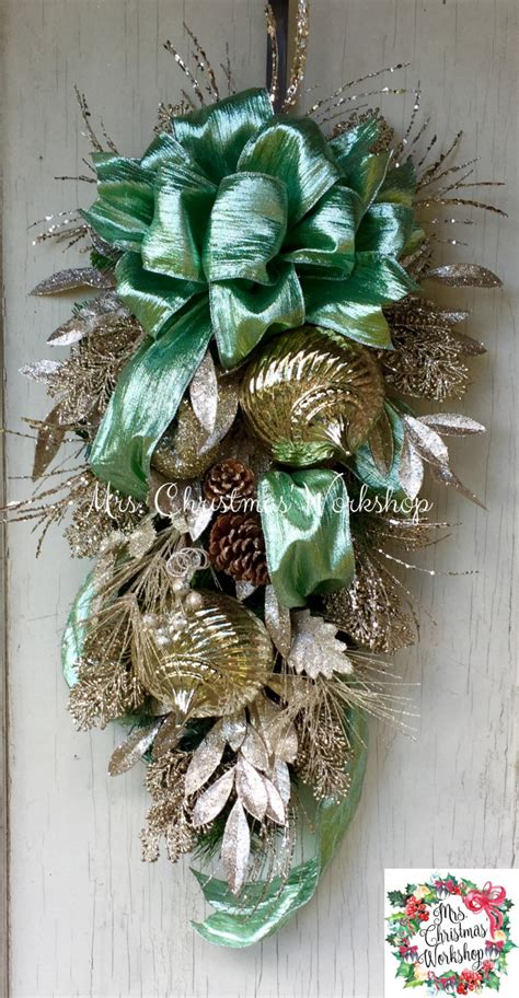 shabby chic wreaths shabby chic wreath mint green wreath deco mesh