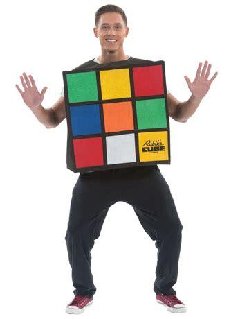 Rubika Dress 4 Rubiks Cube Unisex Costume Fancydress