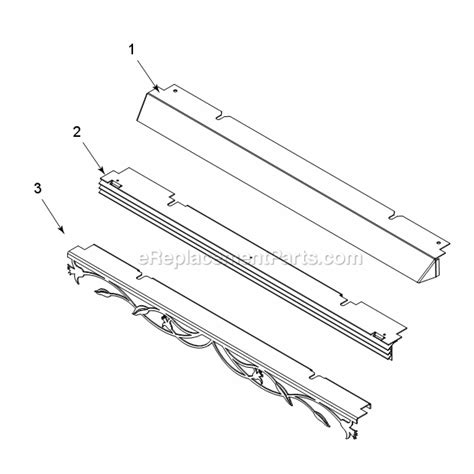 Gas Fireplace Insert Replacement Parts by Majestic 20ildv Parts List And Diagram Series Ildv