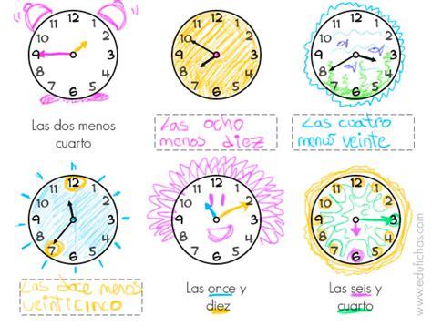 preguntas en frances quelle actividades del reloj hojas para aprender las horas