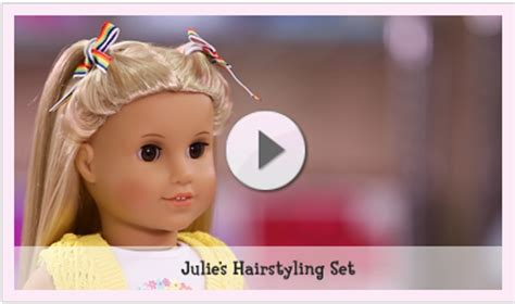 hairstyles for american girl julie doll hair care play at american girl