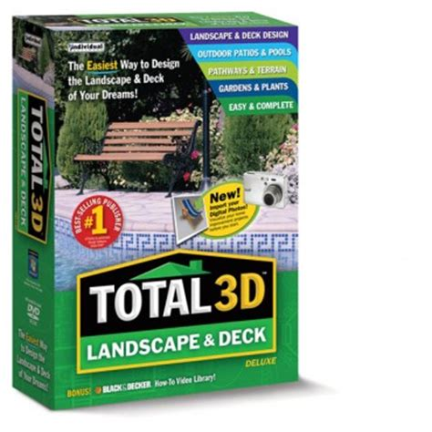 total 3d home design deluxe 11 reviews total 3d landscape deck deluxe individual software