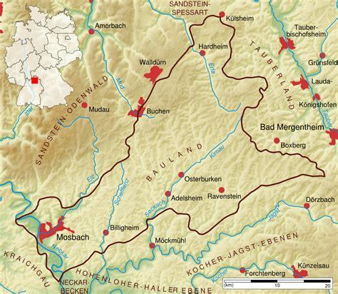 Motorradtouren Kraichgau by Bauland Landschaft
