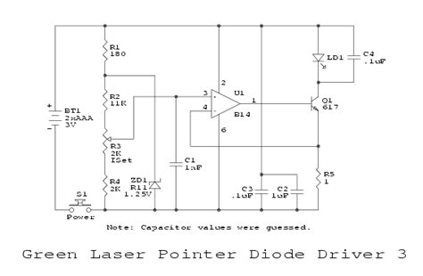 laser diode current driver sam s laser faq diode laser power supplies