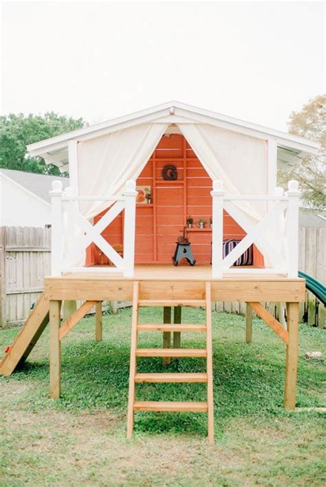 backyard forts and playhouses 25 best kids outdoor playhouses ideas on pinterest kids
