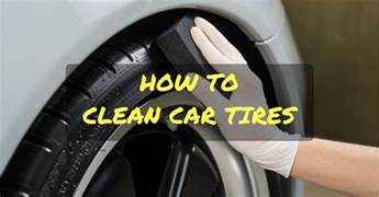 Car Tires To Avoid Prevent Tire Blooming How To Clean Car Tires The Right Way