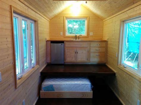 tiny house   loft bed   ground floor tiny