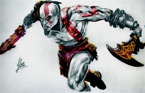 imagenes de kratos wallpaper dibuje a kratos god of war arte taringa