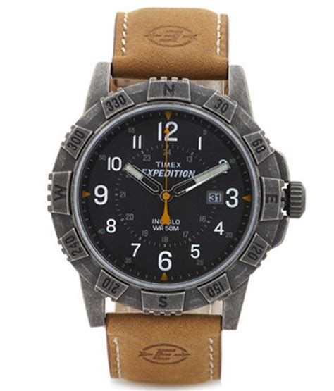 Expedition E6318m Leather Black List timex expedition t49991 s price in india buy