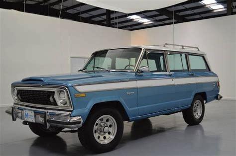 1976 Jeep Wagoneer 1976 Jeep Wagoneer Jeeps I Want