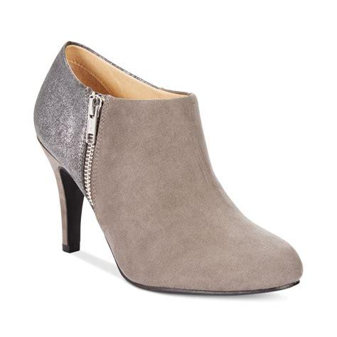 shooties boots lyst report dulcie dress shooties in gray