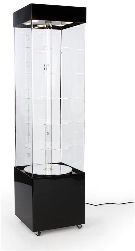 This Trophy Case that Rotates is the Perfect Merchandising
