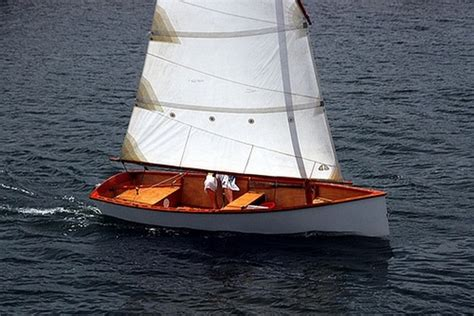 skiff boat sailing sailing skiff boat plans plan make easy to build boat
