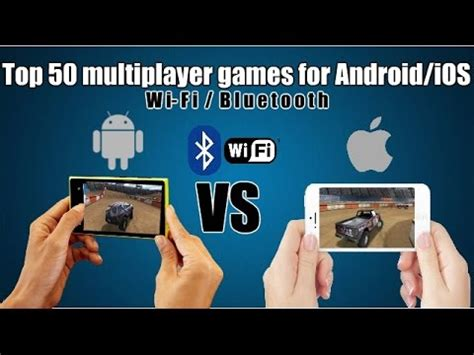 top 50 multiplayer games for android/ios (wi fi/bluetooth