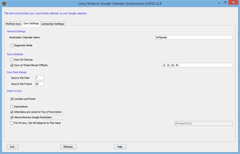 sync calendar with lotus notes lotus notes to calendar synchronizer