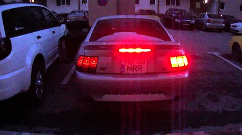 2003 Ford Mustang Gt With Sequential Tail Light Kit From