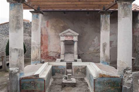casa delle pompei casa dell efebo artribune