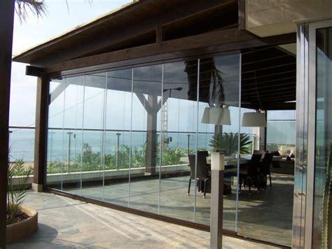 cortina vidrio cortinas de cristal puertas gilmo