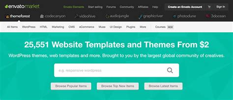 themeforest affiliate theme themeforest best place to buy quality themes earn