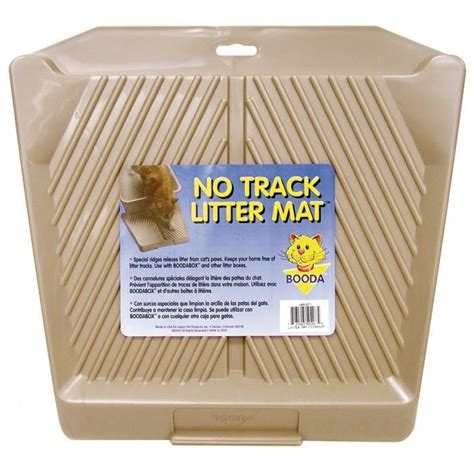Petmate Litter Mat Reviews by Petmate No Track Litter Mat Titanium