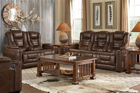 evans upholstery torrance microfiber reclining sofa with drop down table sectionals