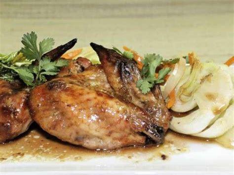 cuisiner des ailes de poulet recettes d ailes de poulet et gingembre