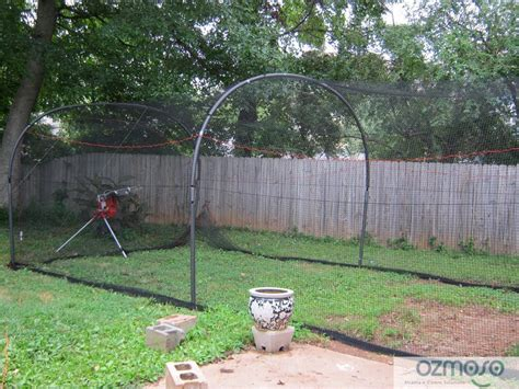 batting cages for backyard heater xtender 24 home backyard softball baseball bp
