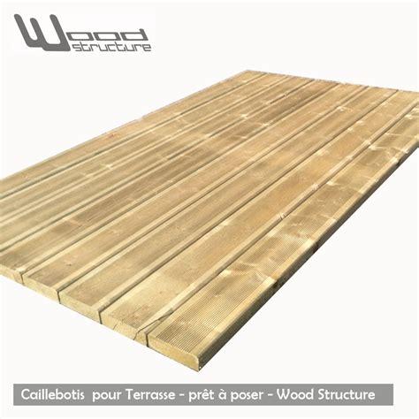 caillebotis pour jardin caillebotis bois pour terrasse pr 234 t 224 poser wood structure