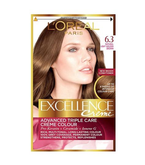 l oreal excellence creme 6 light brown hair colour ebay l oreal excellence creme hair colour 6 3 light golden brown