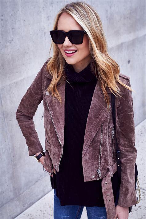 moto style jacket how to wear a suede moto jacket fashion jackson