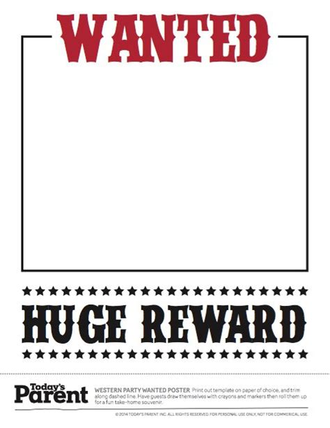 wanted poster template for word 8 wanted poster template