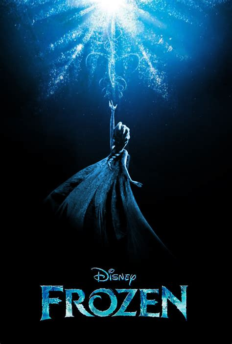 frozen film poster frozen fan made poster frozen fan art 35167019 fanpop